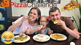 PIZZA CHALLENGE - DZIĘKUJEMY ZA 50 000 SUBÓW WOW :) Baw się ze mną z Lenką
