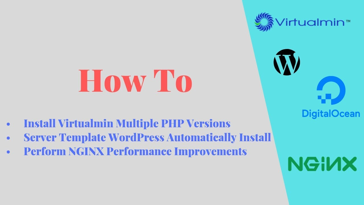 How to Install Virtualmin on CentOS 7 With PHP 7 and NGINX