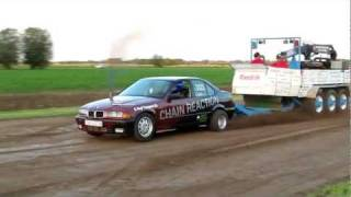 Carpulling Snelrewaard 2011 Chain Reaction 2de manche autotrek
