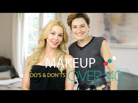 Make up Do's and Don'ts over 40
