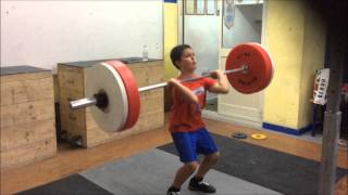 rylee borg 9 years old weightlifter from malta