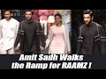 Lakme Fashion Week 2017: Amit Sadh showstopper for Raamz; Watch video | FilmiBeat