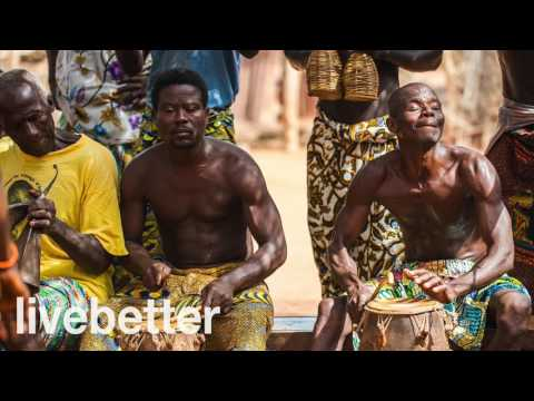 Musica Africana Relajante Moderna Chill Out Lenta Suave - Ritmos Africanos con Tambores Ambiental
