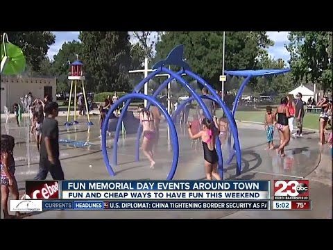 Memorial Day fun around Kern County