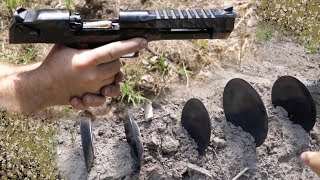 50 Cal Desert Eagle VS Ceramic Plates