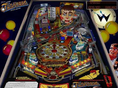 Funhouse Williams 1990 JPSalas, MEGAPIN 1 1 0 Visual Pinball 4 3 HYPERSPIN  NOT MINE VIDEOS