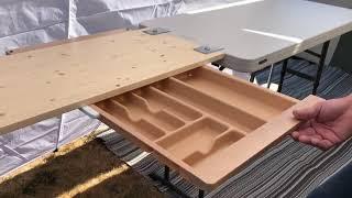DIY Camping Kitchen