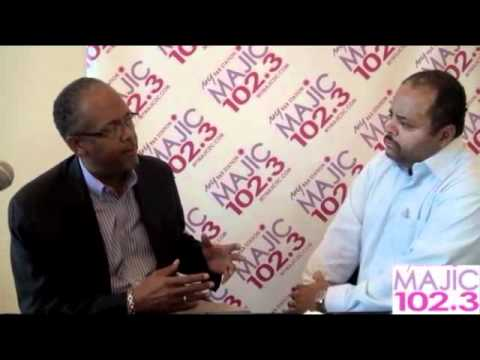 Dr. LeRoy Graham, MD and Roland Martin