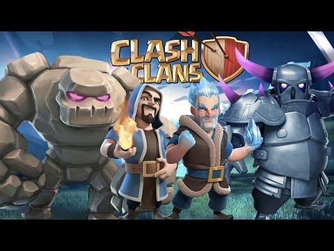 GOWIPE HELADO | Clash of Clans con TheAlvaro845  Español
