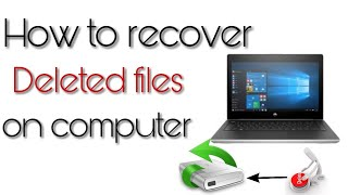 How to recover deleted files in computer😀