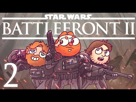 Star Wars Book Club Plays! - Star Wars Battlefront 2 Campaign Part 2
