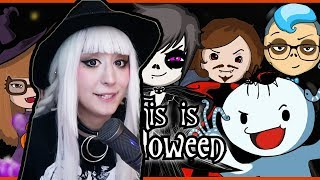 """BEHIND THE SCENES OF: """"THIS IS HALLOWEEN"""" ft. TheOdd1sOut, Endigo, OR3O, Day by Dave, CG5, Maya"""