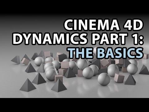 Cinema 4D Dynamics PART 1: The Basics