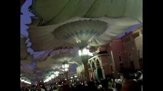 Madinah Al Munawwarah Umbrella opening beautiful