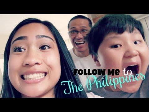 Philippines Vlog #1    13 HOUR FLIGHT!