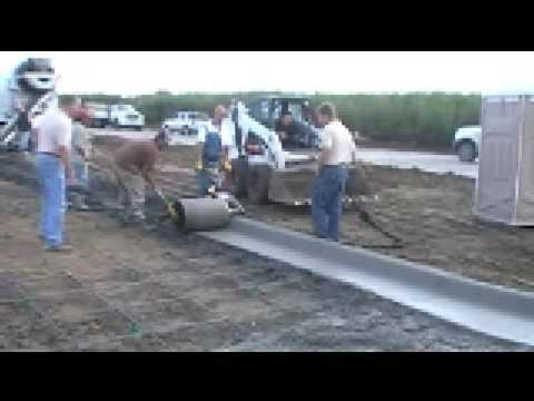 How To Pour A Curb And Gutter Curbroller Youtube