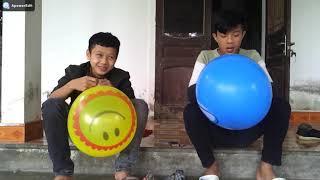Thi Thổi Bóng Bay Bằng Mũi - PHOENIX ( blows balloons with the nose)