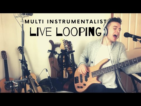 Looping Multi Instrumentalist Live musician - Never Find Out - Original Song by Joe Bateman