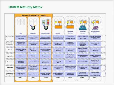 D007   The Open Group Service Integration Maturity Model OSIMM 20100908 1532 1