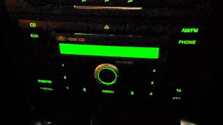 FORD TRANSIT CONNECT C-MAX MONDEO 6000CD CD PLAYER RADIO AUX INC CODE M042463