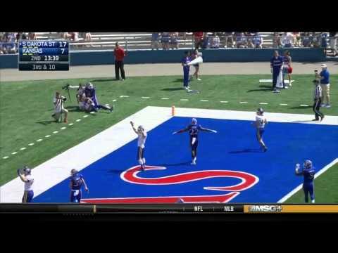 South Dakota State at Kansas | 2015 Big 12 Football Highlights