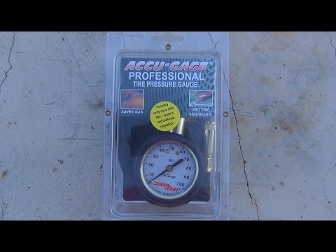 Tool Review of the Accu-gage tire pressure guage