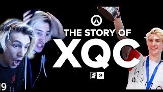 xQc Reacts to The Story Of xQc by theScore esports | xQcOW