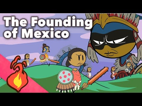 The Founding of Mexico - Aztec Myths - Extra Mythology