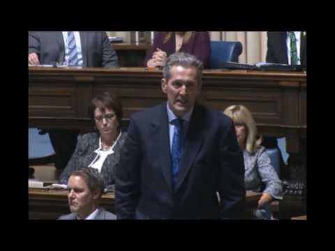 Premier Brian Pallister pays tribute to Jim Prentice