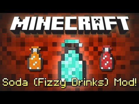 Minecraft Soda Fizzy Drinks Mod Youtube