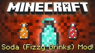 Minecraft: SODA (Fizzy Drinks) MOD!