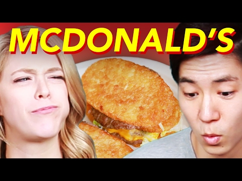 Thumbnail: People Try Bizarre McDonald's Mashups