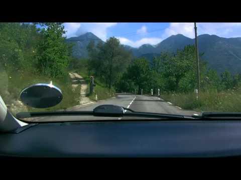 Driving in Provence Alpes Côte d'Azur Sospel