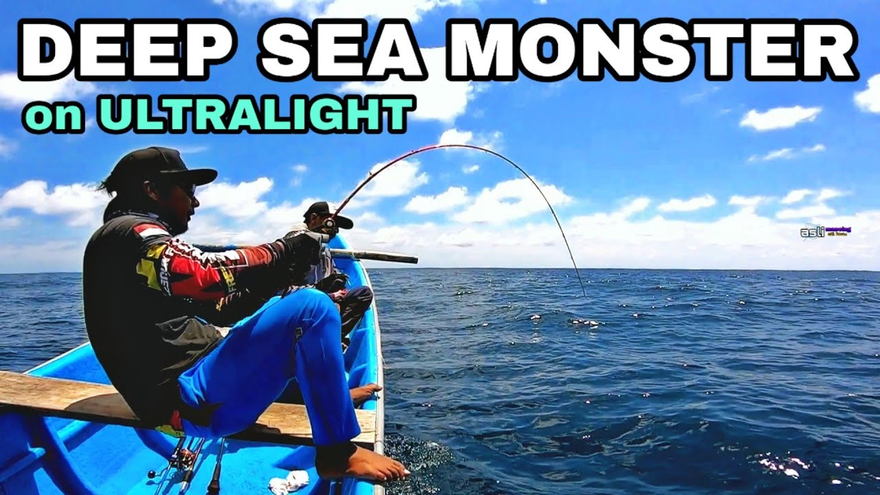 (FULL STRIKE) DEEP SEA MONSTERS VS ULTRALIGHT ROD - mancing mania asli mancing #225 #aslimancing