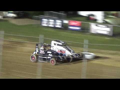 Angell Park Speedway Badger Midget Feature Highlights July 26 2018