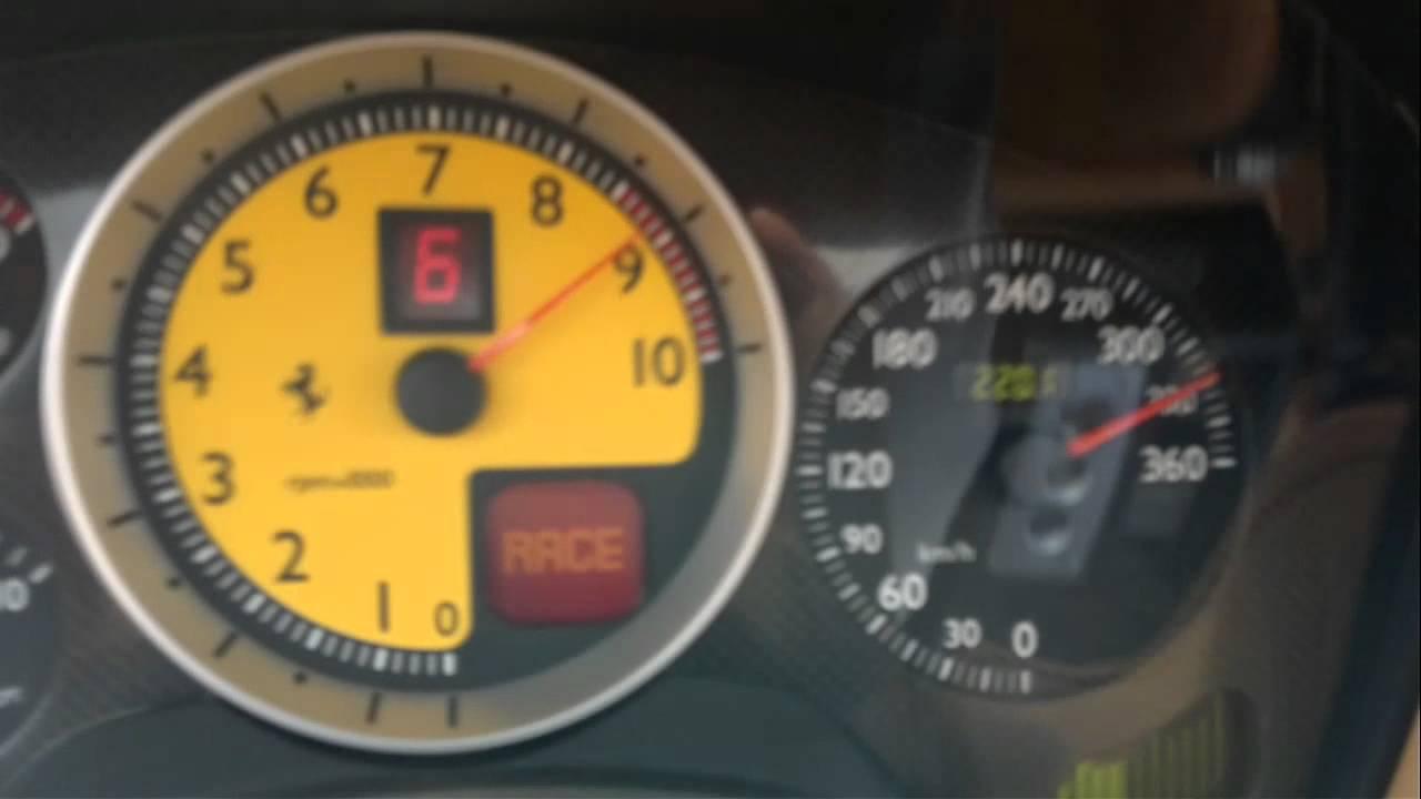 Ferrari F430 Spider 330+ km/h - YouTube
