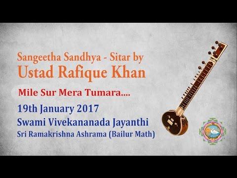 Mile Sur Mera Tumara - Sitar by Ustad Rafique Khan