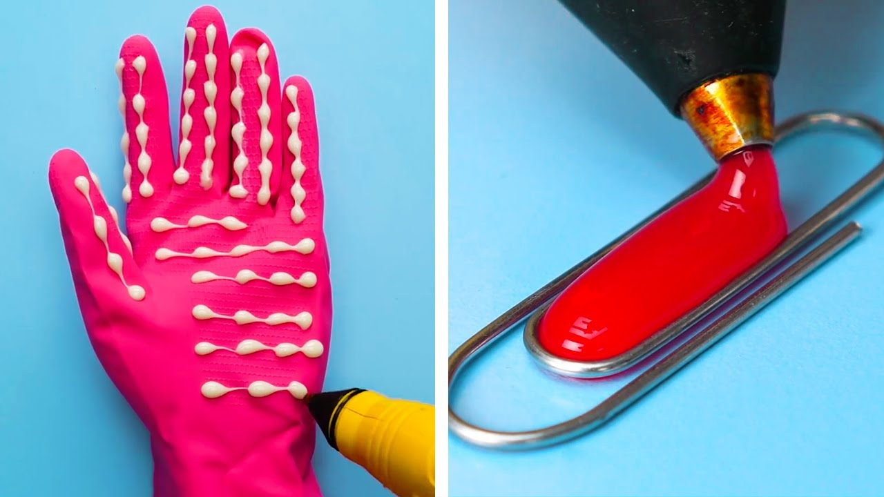 29 MUST-KNOW GLUE GUN HACKS FOR EVERY SITUATION