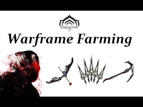 Warframe Farming - Stalker (Dread,Despair, Hate & War)