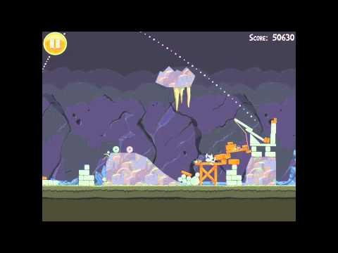 Angry Birds 16-11 Mine & Dine 3 Star Walkthrough