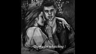 Speed Drawing Of A Twilight Love Story, Bella & Jacob By: Lmk-Arts!!!
