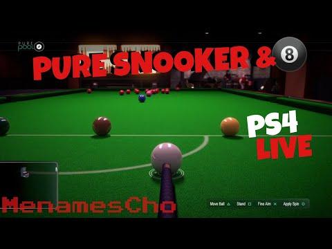 MenamesCho's Live Ps4 -  Snooker 18+  - Pure Pool - 11th Feb 2018 - UK