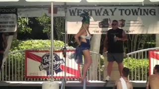Repeat youtube video Wet T-shirt Contest at Tattoo Expo in South Florida Part 1