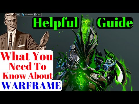 Warframe | Important Starter Guide | New to Intermediate Players