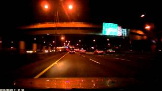 DOD V660II行車記錄器 夜間高速公路