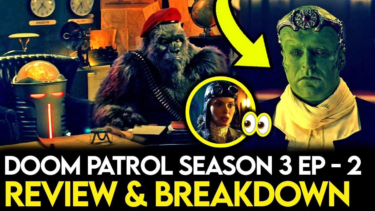 Download Doom Patrol Season 3 Episode 2 Breakdown - Ending Explained, Things Missed & Theories