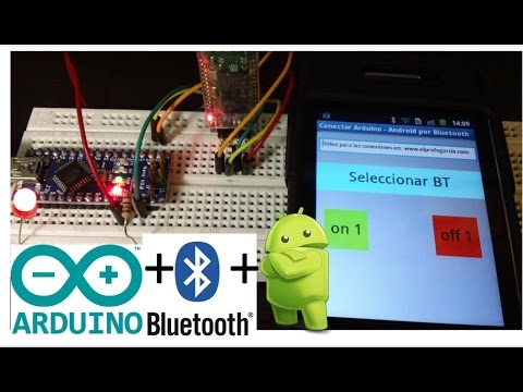 Connect Arduino With Your Android Phone Over Bluetooth By