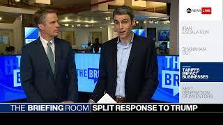 The Briefing Room: Trump's 2020 campaign kickoff, Iran tensions, China tariffs   ABC News