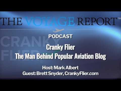 Podcast Episode 8-Cranky Flier: The Man Behind Popular Aviation Industry Blog