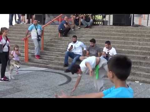 Sremska Mitrovica 24 avg 2014 - Parkour
